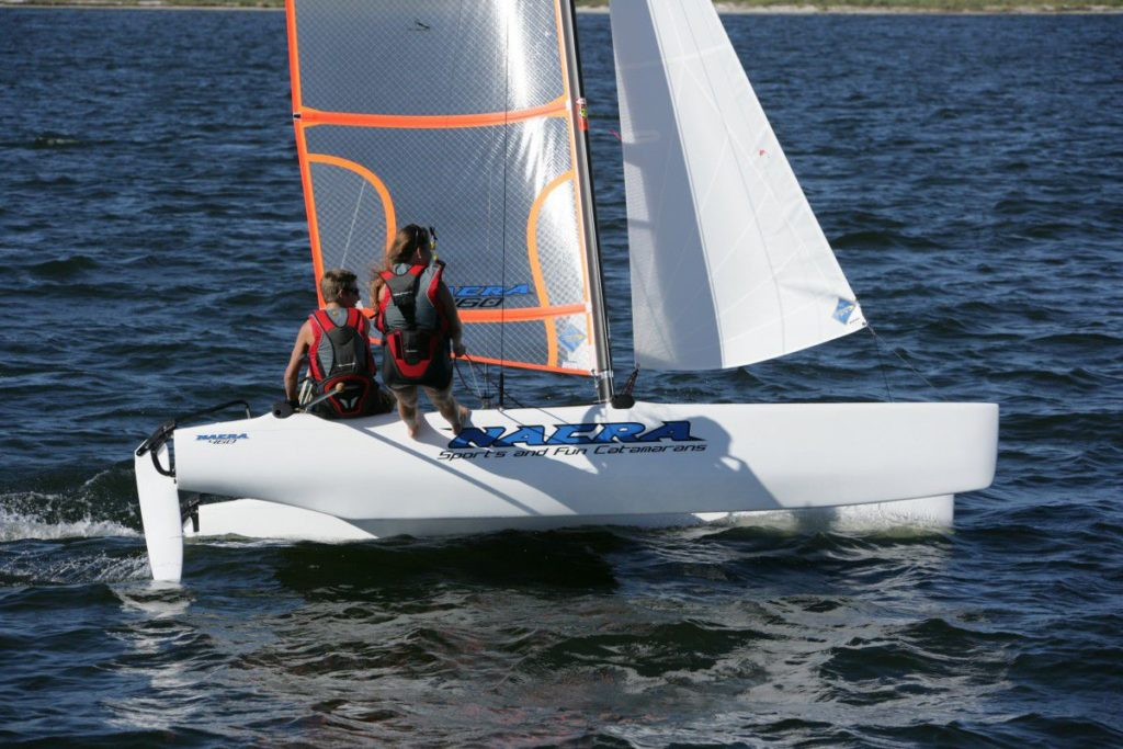 Header Bild für Nacra 460 bei Sven Lindstädt Segelmacherei