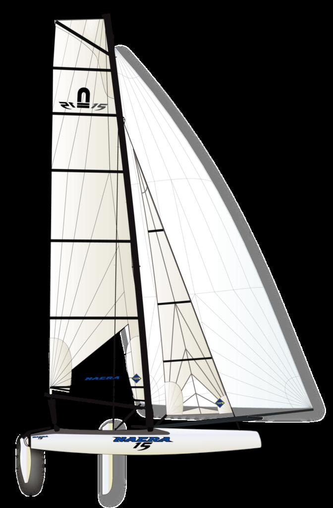 Nacra 15 High Performance Katamaran Segeln Jugend Segeln Jugend Katamaran vorolympische Bootsklasse