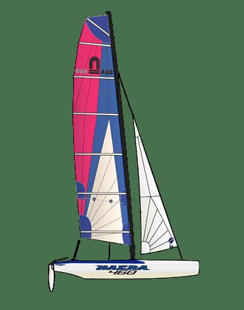 Der Nacra 460 School/ Resort ist eine tolle Ergänzung zur Flotte in jeder Segelschule