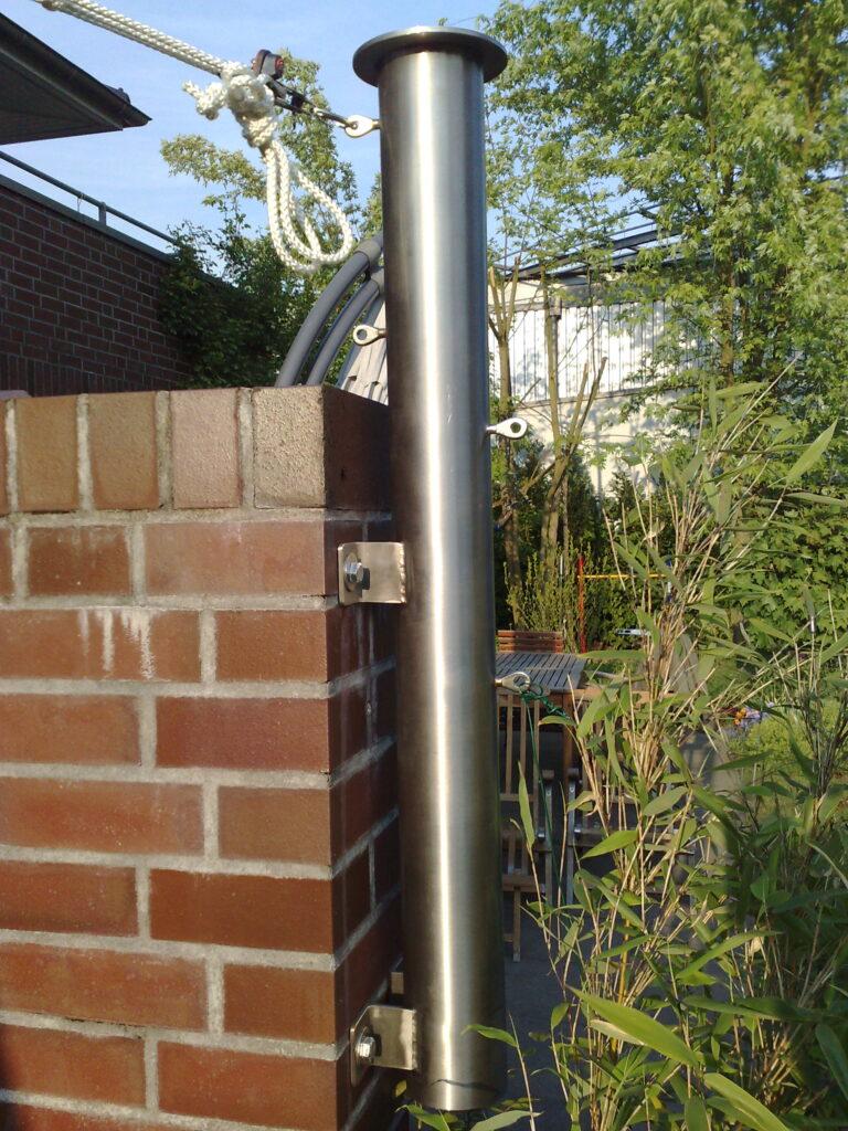Sonnensegel nach Maß Hamburg von Sven Lindstädt Segelmacherei nahe Hamburg Sonnenschutz Regenschutz Wasserdich für Balkon und Terrasse